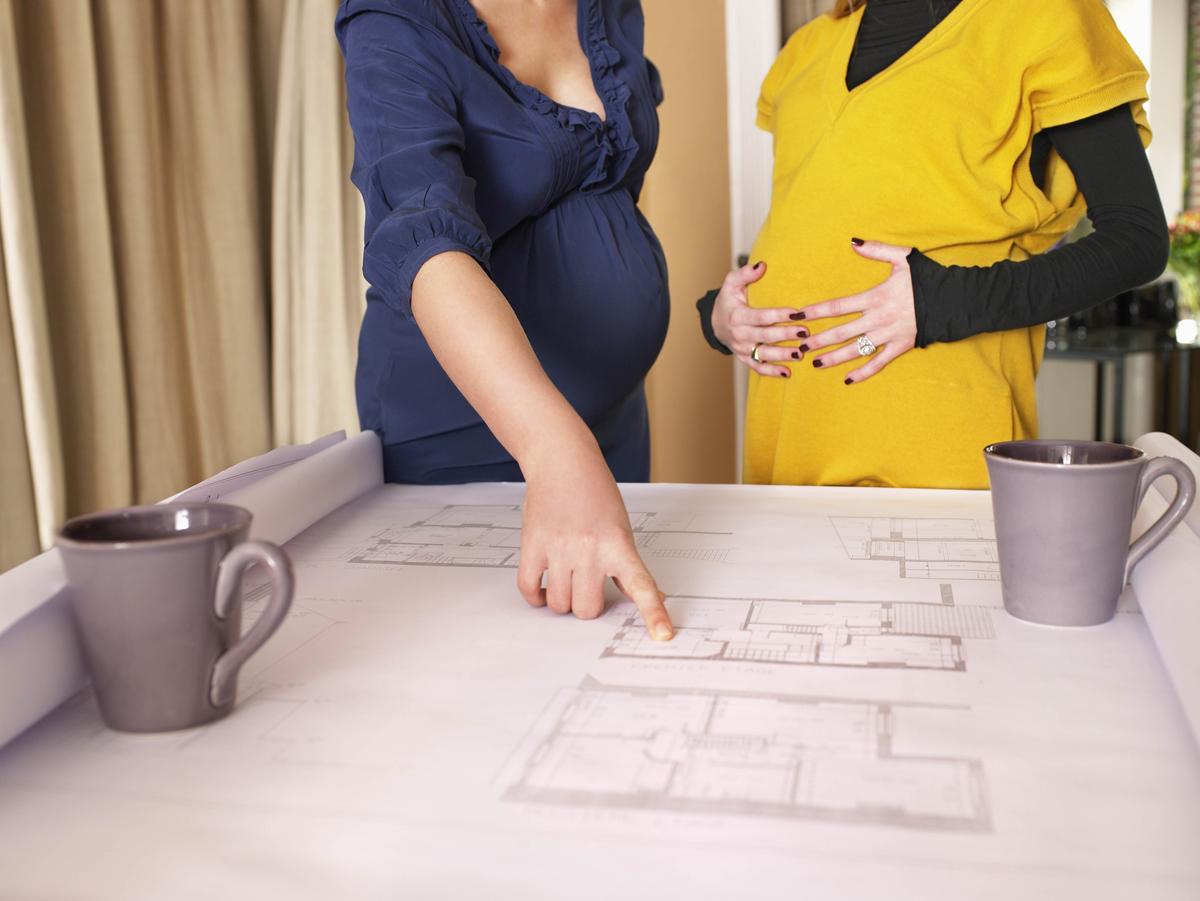 Buscando trabajo durante el embarazo