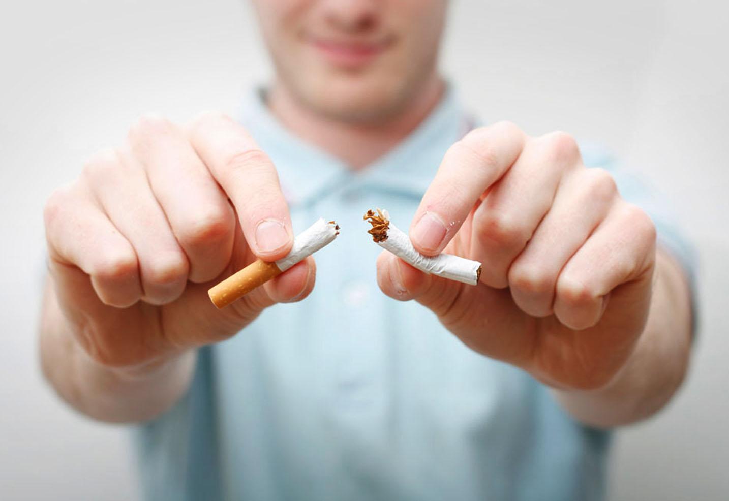 Sangre de analisis antes fumar un de